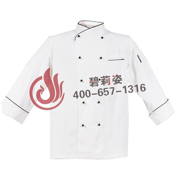 黑色厨师服装图片
